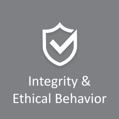 Integrity and Ethical Behavior