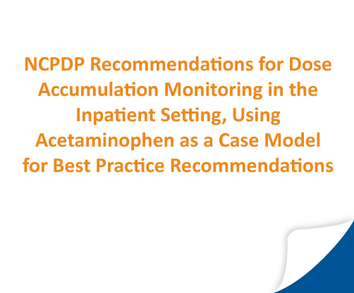 NCPDP Recommendations White Paper